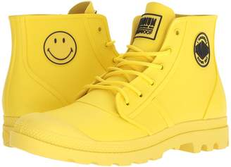 Palladium Pampa Smiley Rain Waterproof Lace up casual Shoes