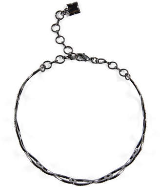 BCBGMAXAZRIA Pave Looped Choker Necklace
