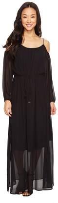 Calvin Klein Off Shoulder Maxi Dress Women's Dress