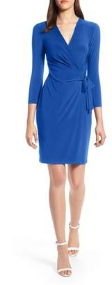 Anne Klein Faux Wrap Dress