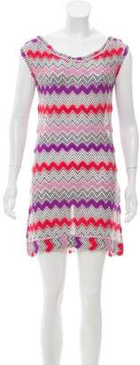 Missoni Chevron Pattern Sleeveless Dress