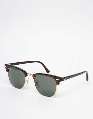 Ray-Ban Clubmaster Sunglasses 0rb3016 W0366 49