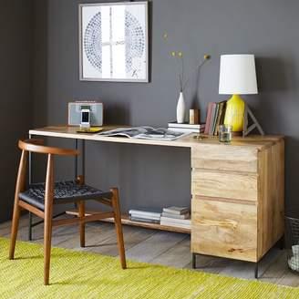 west elm Industrial Modular Desk Set – Box File