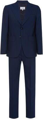 Maison Margiela Single-Breasted Pinstripe Suit