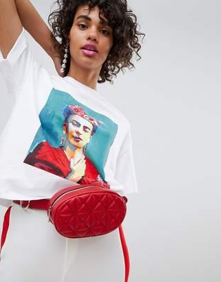 Stradivarius Frida Portrait T-Shirt