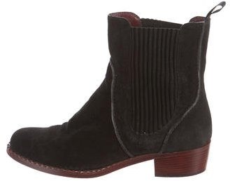 Marc by Marc Jacobs Suede Round-Toe Ankle-Boots