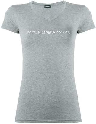 Emporio Armani slim fit logo T-shirt