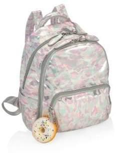 Bari Lynn Kid's Mini Pastel Camo Backpack