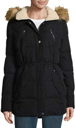 A.N.A Microfiber Water Resistant Heavyweight Puffer Jacket