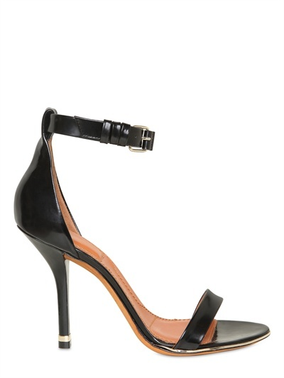 Givenchy - 100mm Brushed Calfskin Sandals