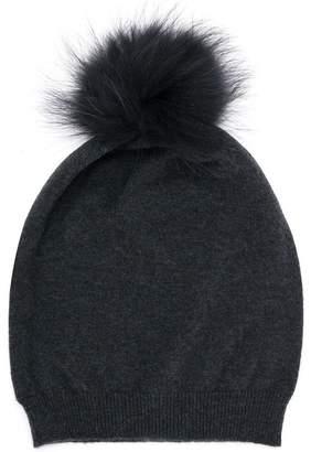 Fabiana Filippi fur pom pom hat