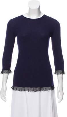 Miu Miu Virgin Wool & Silk Blend Sweater