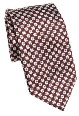Saks Fifth Avenue COLLECTION Patterned Silk Tie