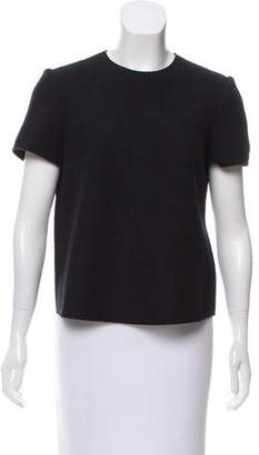Isabel Marant Short Sleeve Wool Top