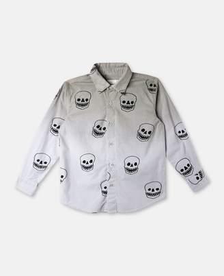 Stella McCartney samuel skulls print shirt