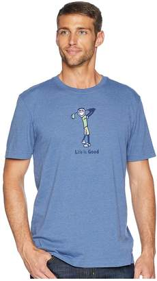 Life is Good Classic Golf Crusher Tee Men's T Shirt