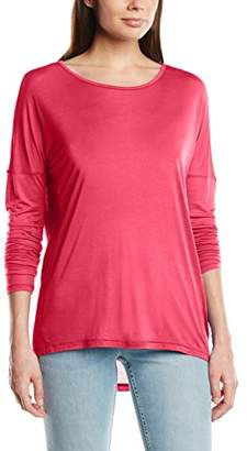 Benetton Women's Long Sleeve Top, Pink