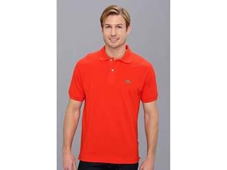 Lacoste L1212 Classic Pique Polo Shirt Men's Short Sleeve Knit