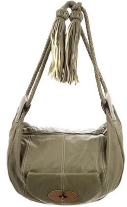 Mulberry Leather Shoulder Bag $245 thestylecure.com