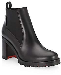 Christian Louboutin Women's Marcharoche 70 Leather Booties