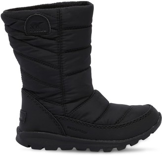 Sorel Waterproof Nylon Padded Snow Boots