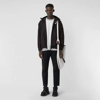 Burberry Archive Logo Print Lightweight Hooded Jacket