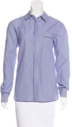 Thakoon Striped Button-Up Top