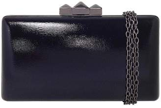 Wild Lilies Jewelry Black Pyramid Clutch