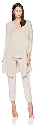 Anne Klein Women's Side Split Cardigan