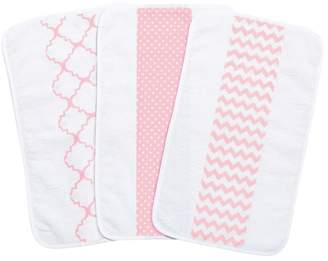 Trend Lab 3-Pk. Jumbo Burp Cloth Set