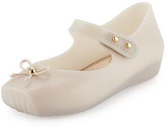 Mini Melissa Mini Melissa Ballet Flat, 5T-10T $55 thestylecure.com