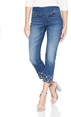 Jag Jeans Women's Lewis Straight Pull on Crop