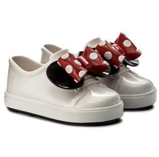 Mini Melissa Kids Be + Minnie Shoe - White Black