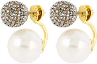 Henri Bendel Pearl Ball Ear Jacket