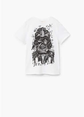 MANGO (マンゴ) - MANGO KIDS Tシャツ .-- WARS (ホワイト)