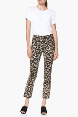 Paige Denim Hoxton Sahara Leopard Jean