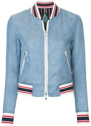 GUILD PRIME denim bomber jacket