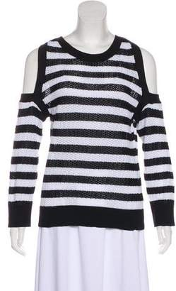 Rag & Bone Stripe Cold-Shoulder Sweater w/ Tags