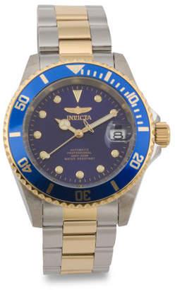 Men's Pro Diver Two Tone Bracelet Watch