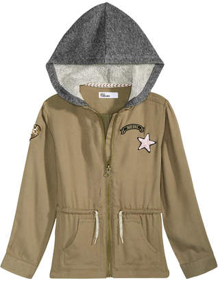 Epic Threads Toddler Girls Hooded Utility Jacket