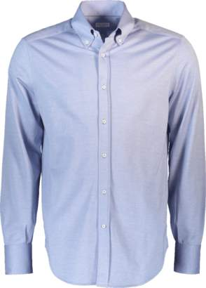 Brunello Cucinelli Button Down Jersey Shirt