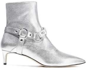 Altuzarra Davidson Metallic Textured-leather Ankle Boots
