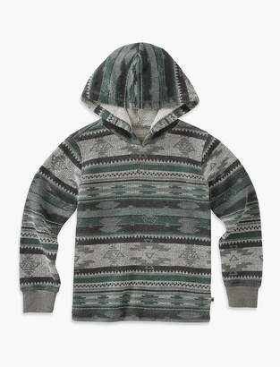 Lucky Brand PRINTED PULLOVER HOODIE