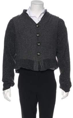 Dolce & Gabbana Wool & Silk Layered Sweater & Vest