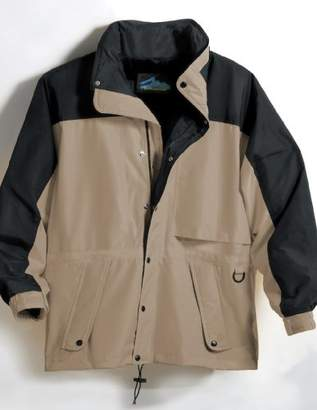 Tri-Mountain Men's Big And Tall Waterproof Parka