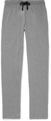 Schiesser Cotton-jersey Pyjama Trousers - Gray