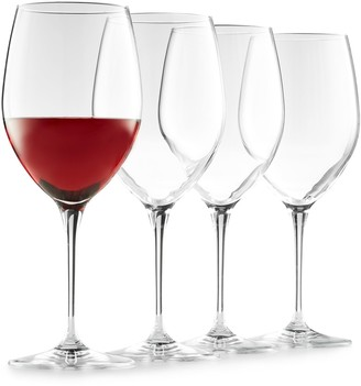 Food Network Signature 4-pc. Crystal Red Wine Glass Set