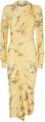 Preen Louise Ruched Floral Dress