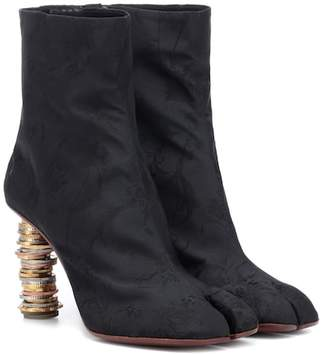 Vetements Split-toe coin ankle boots