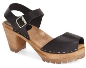 Mia 'Greta' Clog Sandal